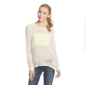 Volcom *Make You Mine* Cream Sweater, size L